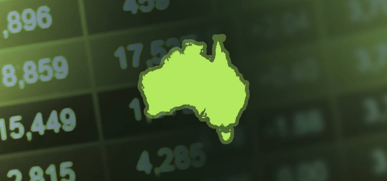 Australian equities jump at close of trade