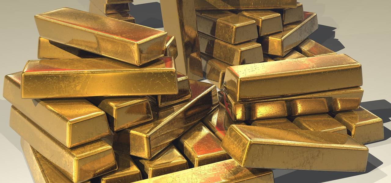 Gold retreats further from 3-1/2 month maximums