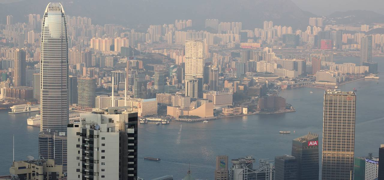 Hong Kong's economy is caught moderating, although expansionary budget will lend support
