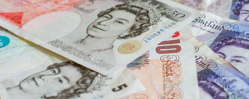 UK currency slumps below $1.29
