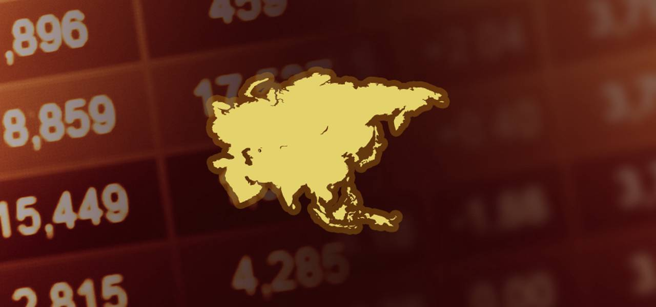 Asian markets dive