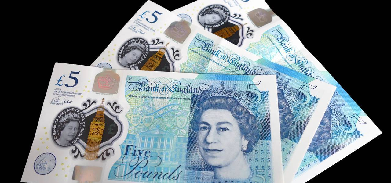 UK pound goes up