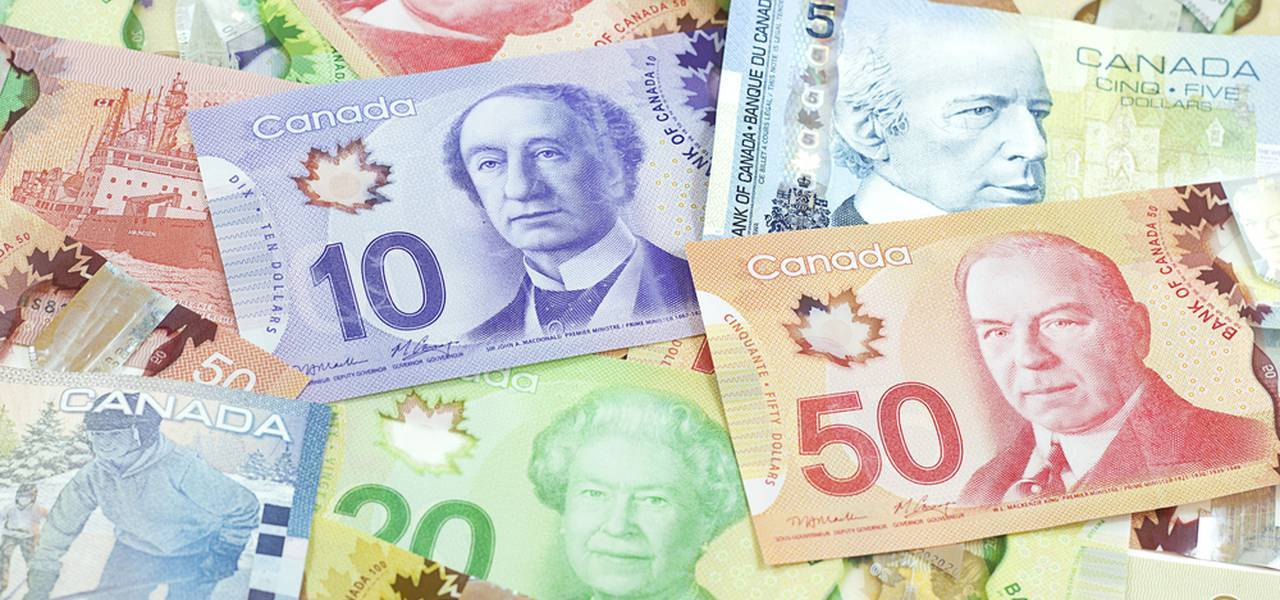 An opportunity to trade the Canadian dollar