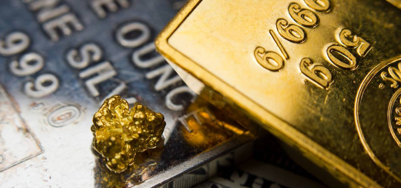 Gold is nearly intact ahead of Fed minutes