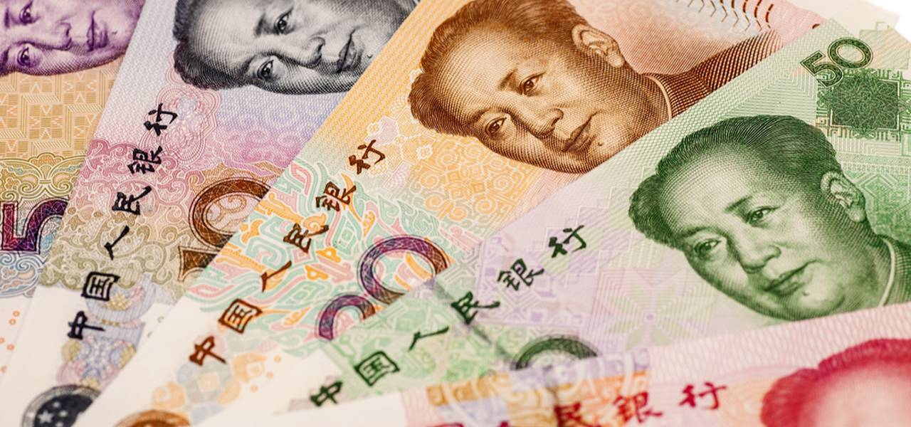 Chinese Yuan goes down notwithstanding firm factory polls