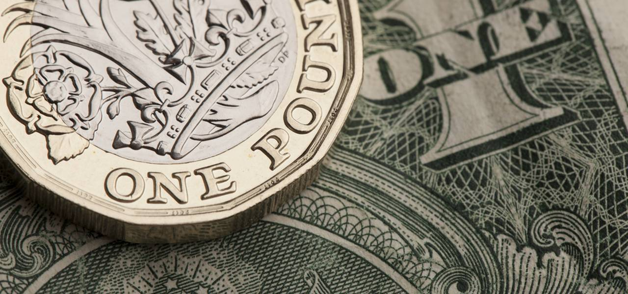 The British pound continues to go down as political risks intensify.