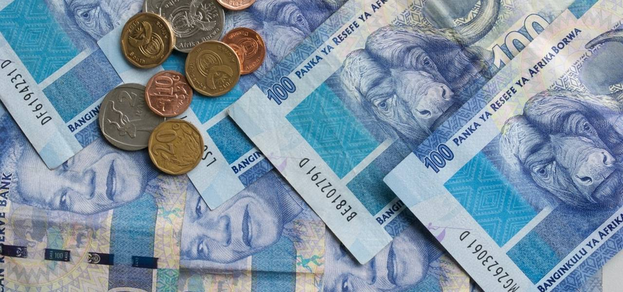 What weakens the South African rand?