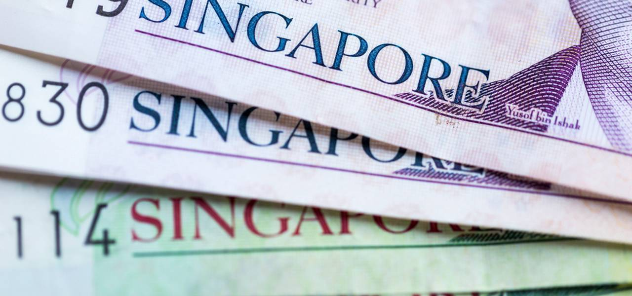 The US Treasury makes the Singapore dollar fall