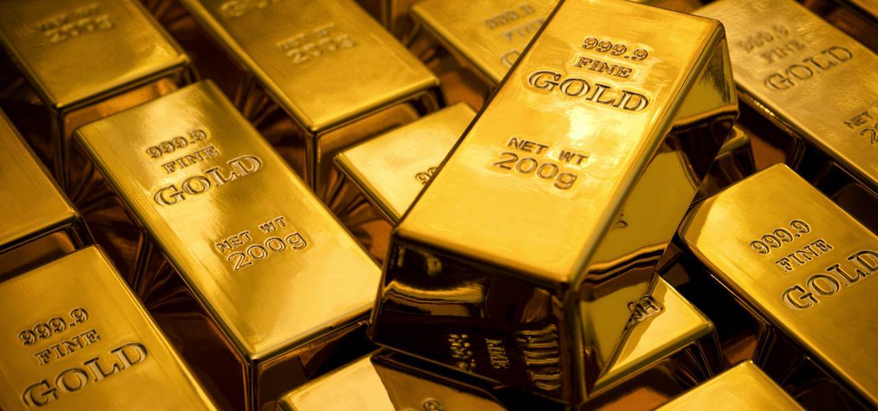Gold acts firmer on risk-off, while staying below $ 1230
