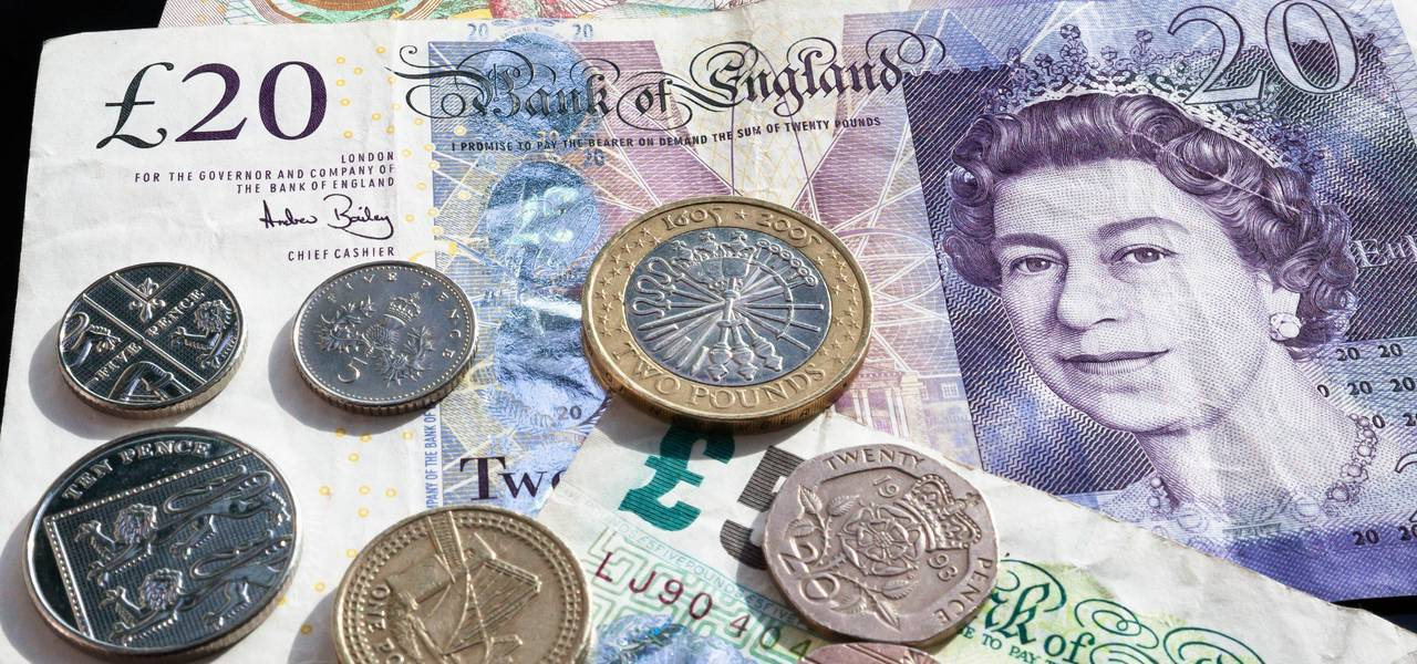 Sterling drops briefly in Asia