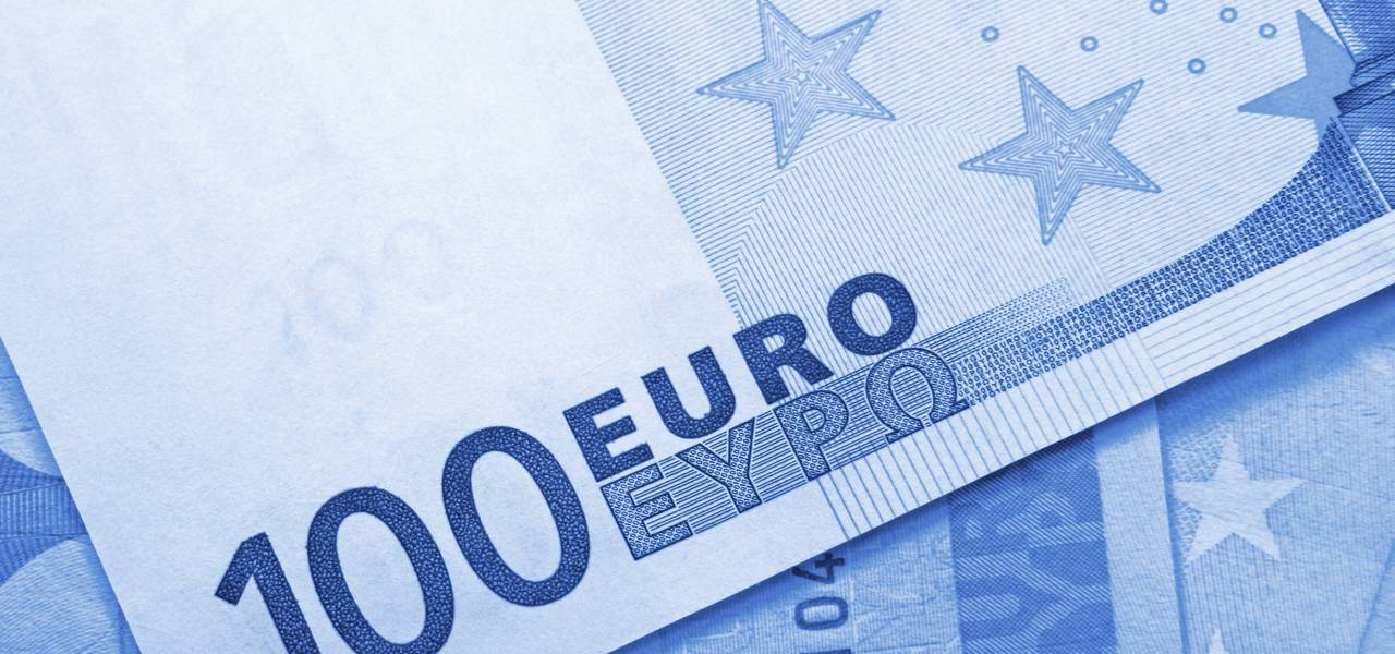 EUR/USD: bullish 'Three Methods' pattern