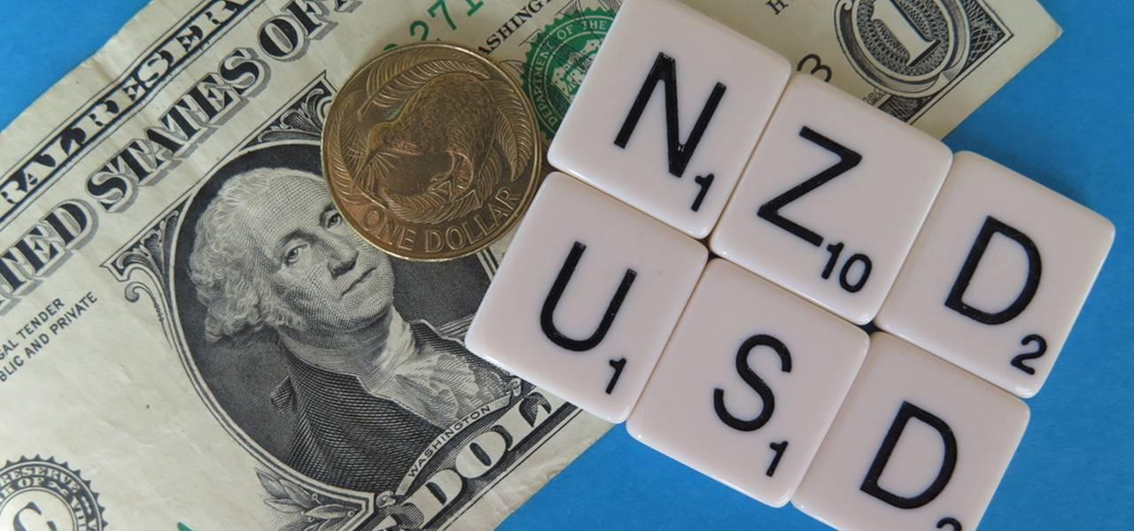 NZD/USD formed a top