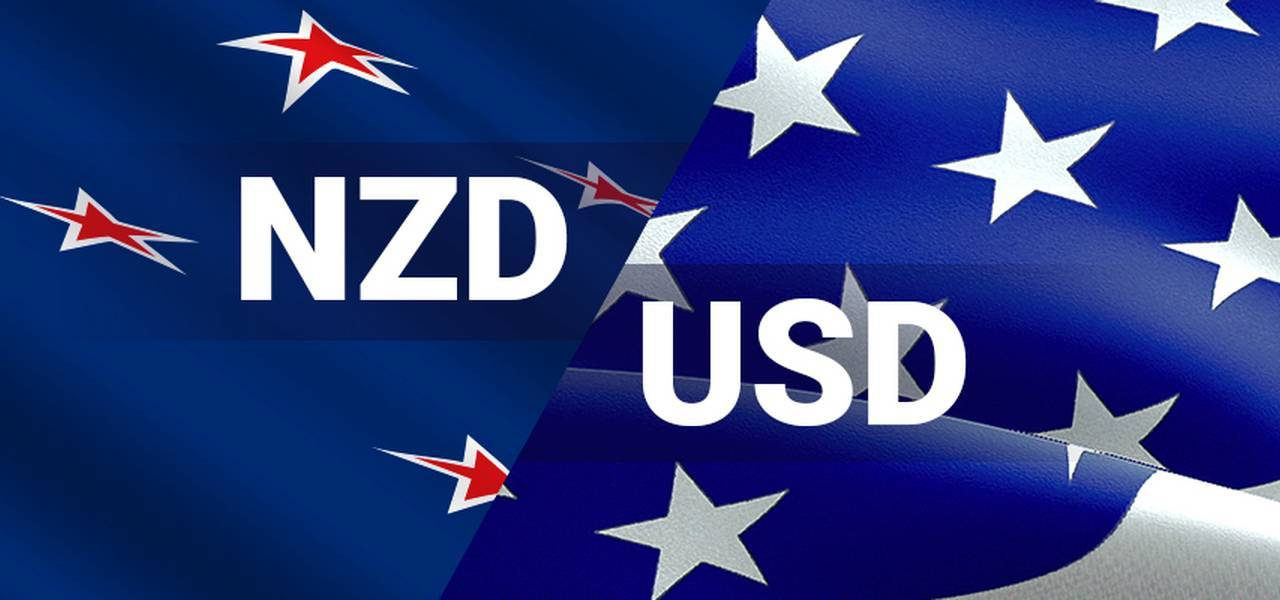NZD/USD with heavy sellers concentration around 0.7038
