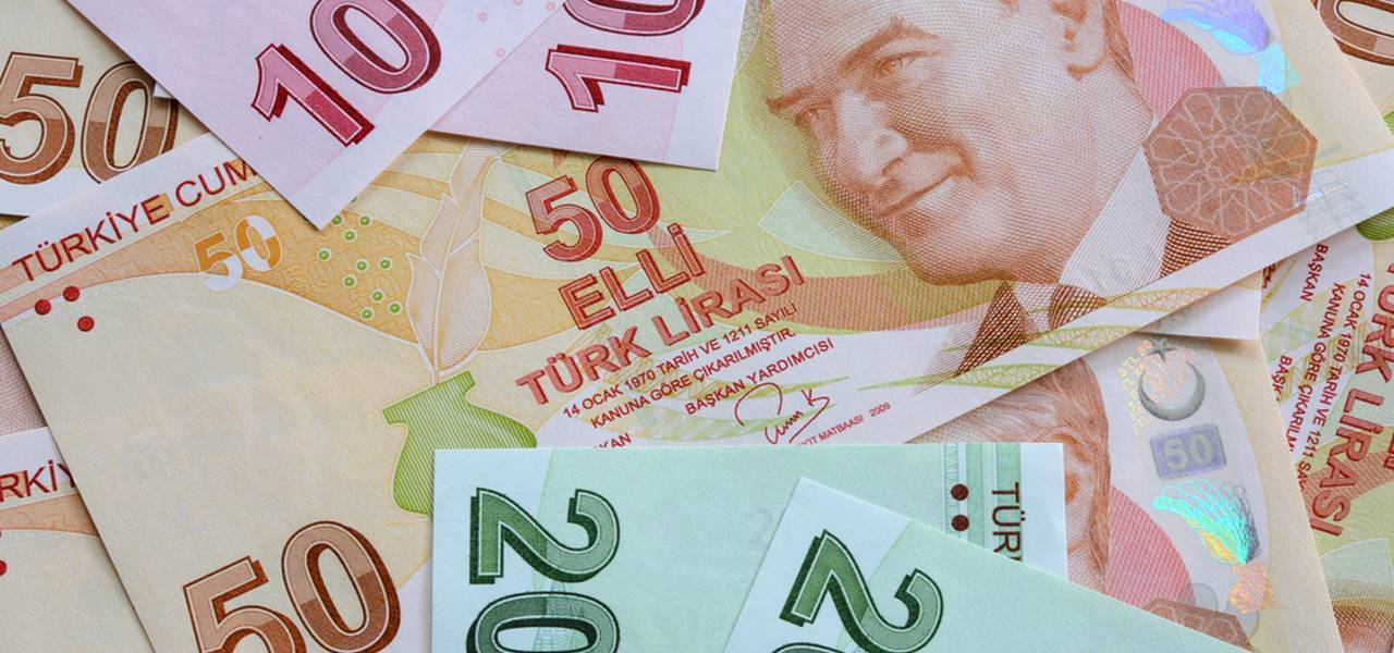 What is happening with the Turkish lira?