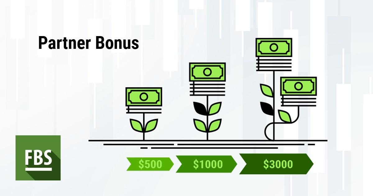 Partner Bonus up to $3000 monthly