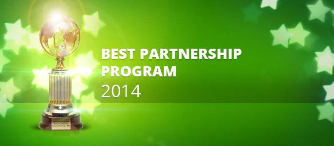 "FBS company awarded as ""World best bonus program on Forex 2014"""