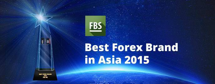 FBS company awarded with Best Forex Brand, Asia