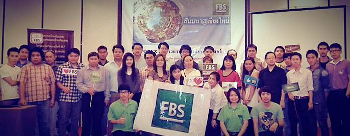 FBS company held a workshop for traders in Chiang Mai!