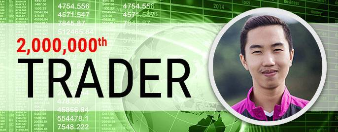 FBS is proud to announce its 2 millionth trader!