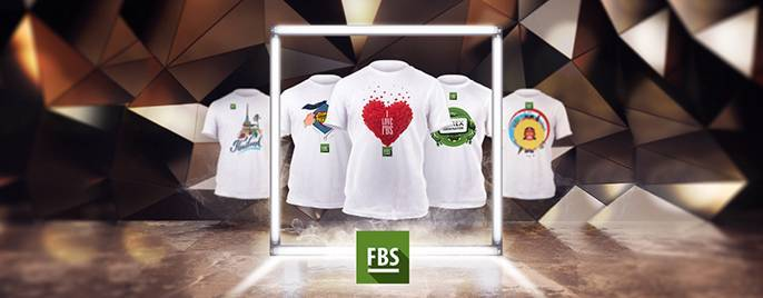 Choose a lucky T-shirt from the new collection by FBS!