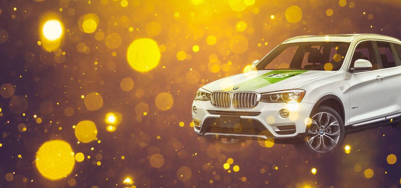 "Announcing the winners of ""Get BMW X3"""