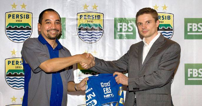 FBS became official sponsor of Persib! Play in Premier League on Forex!