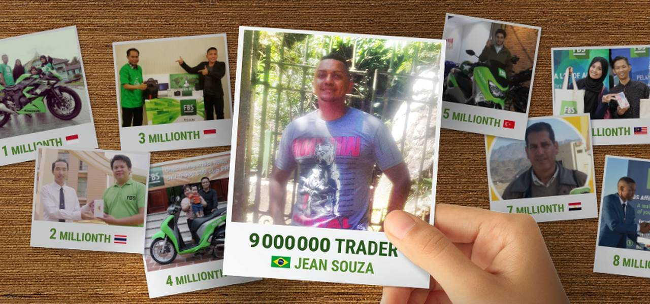 Welcome our lucky 9 millionth trader!