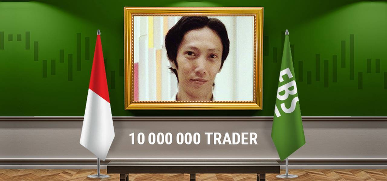 Welcome FBS 10 millionth trader!