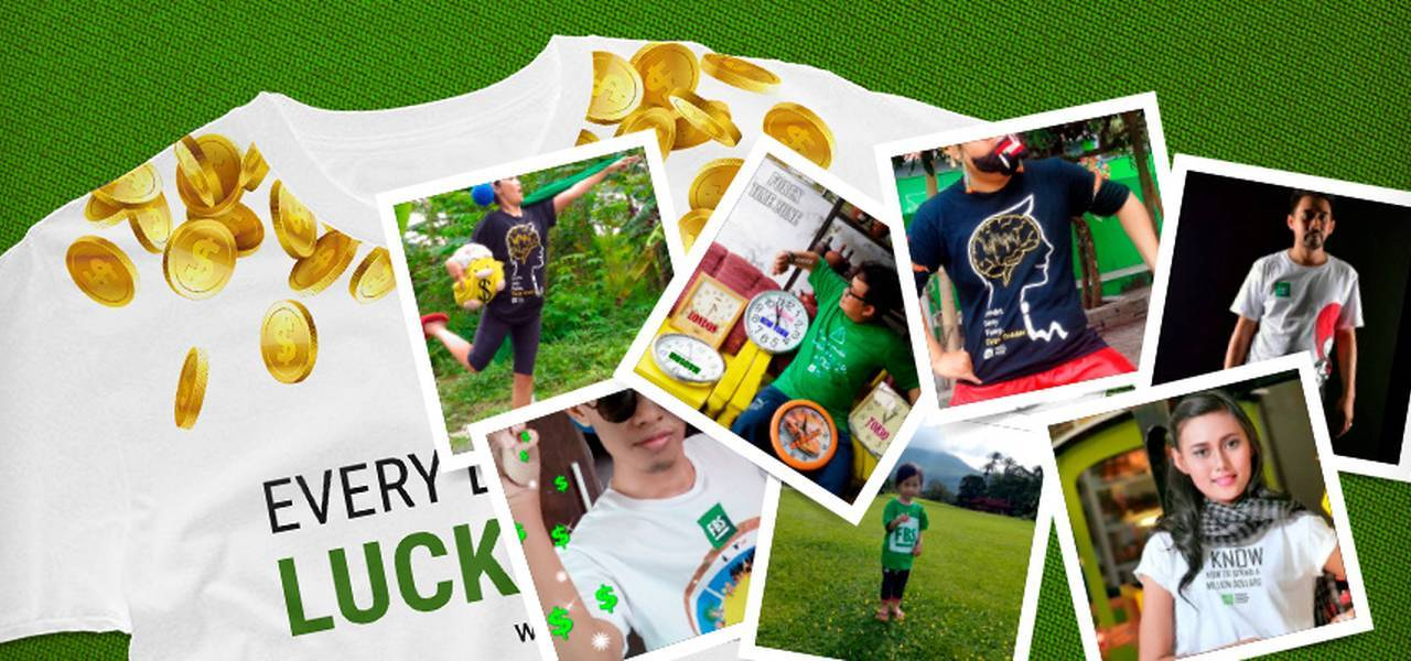 Revolution Of Trader's Style: Get FBS Lucky T-Shirts And More