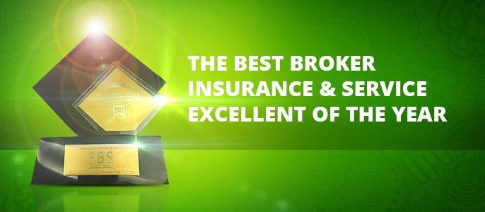 "FBS company got high-level award ""The Best Broker Insurance & Service. Excellent of The Year""!"