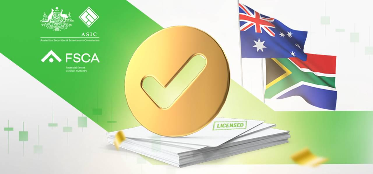FBS got a license in RSA and Australia
