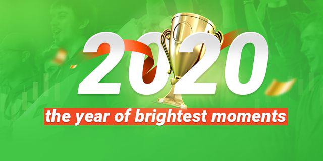 2020: the year of brightest moments