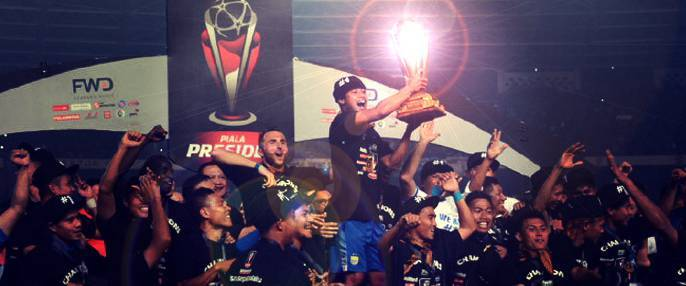 Persib team sponsored by FBS won President Cup!