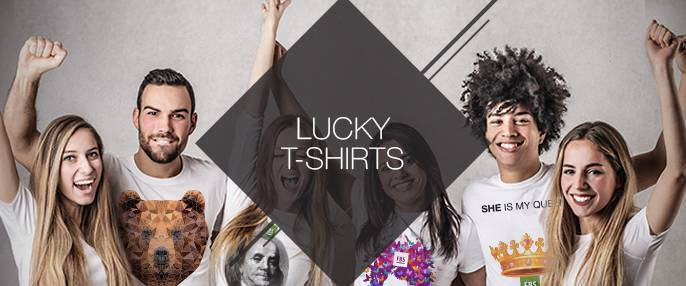 "Time to get lucky! Brand new catalogue of ""Lucky T-shirts"" by FBS!"